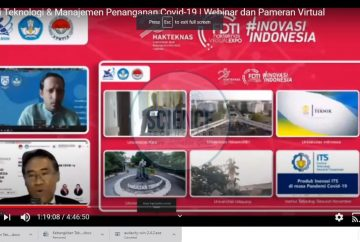 Diskusi Terbuka pada Pameran Virtual Hari Kebangkitan Teknologi Nasional ke-25 ScreenCapture